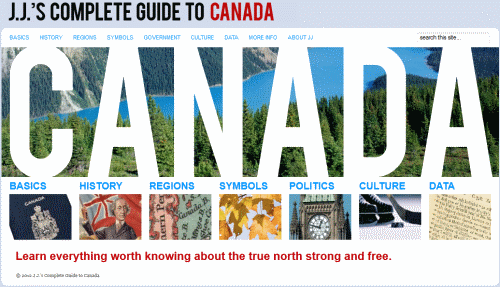 J.J.'s Complete Guide to Canada